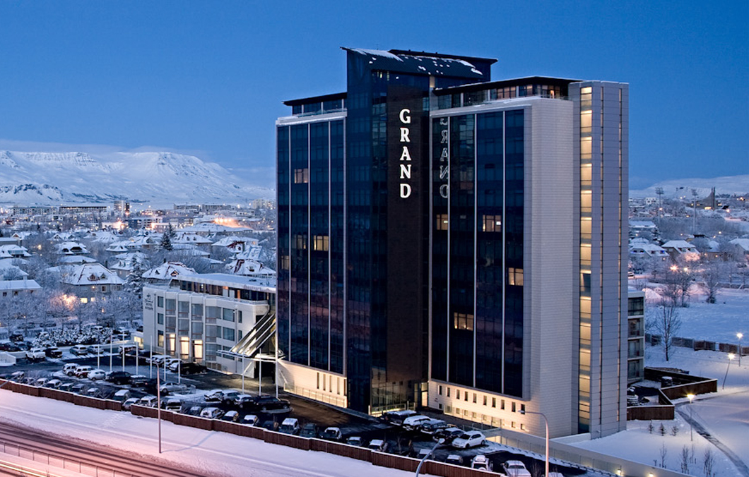 Grand Hotel Reykjavik used by Boutique DMC Incentives Iceland