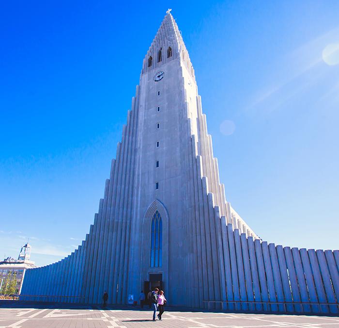 Hallgrímskirkja Cathedral in Reykjavik
