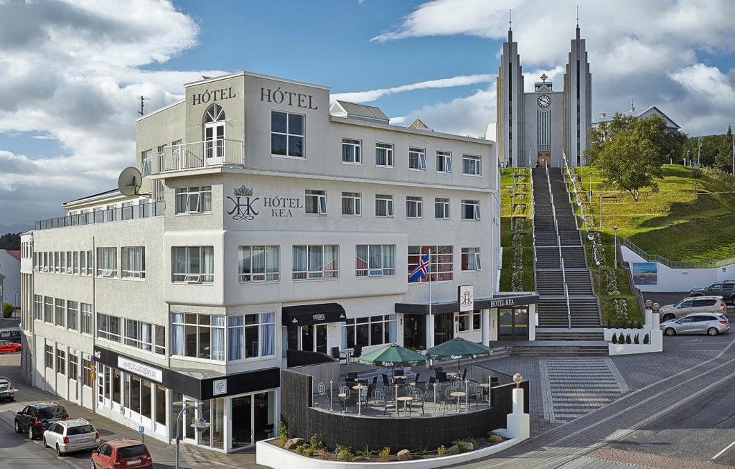 Kea Hotel in Akureyri used by Boutique DMC Iceland