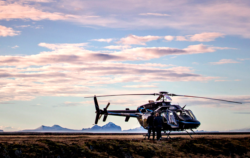 VIP Luxury Helicopter Tours with Boutique DMC Iceland